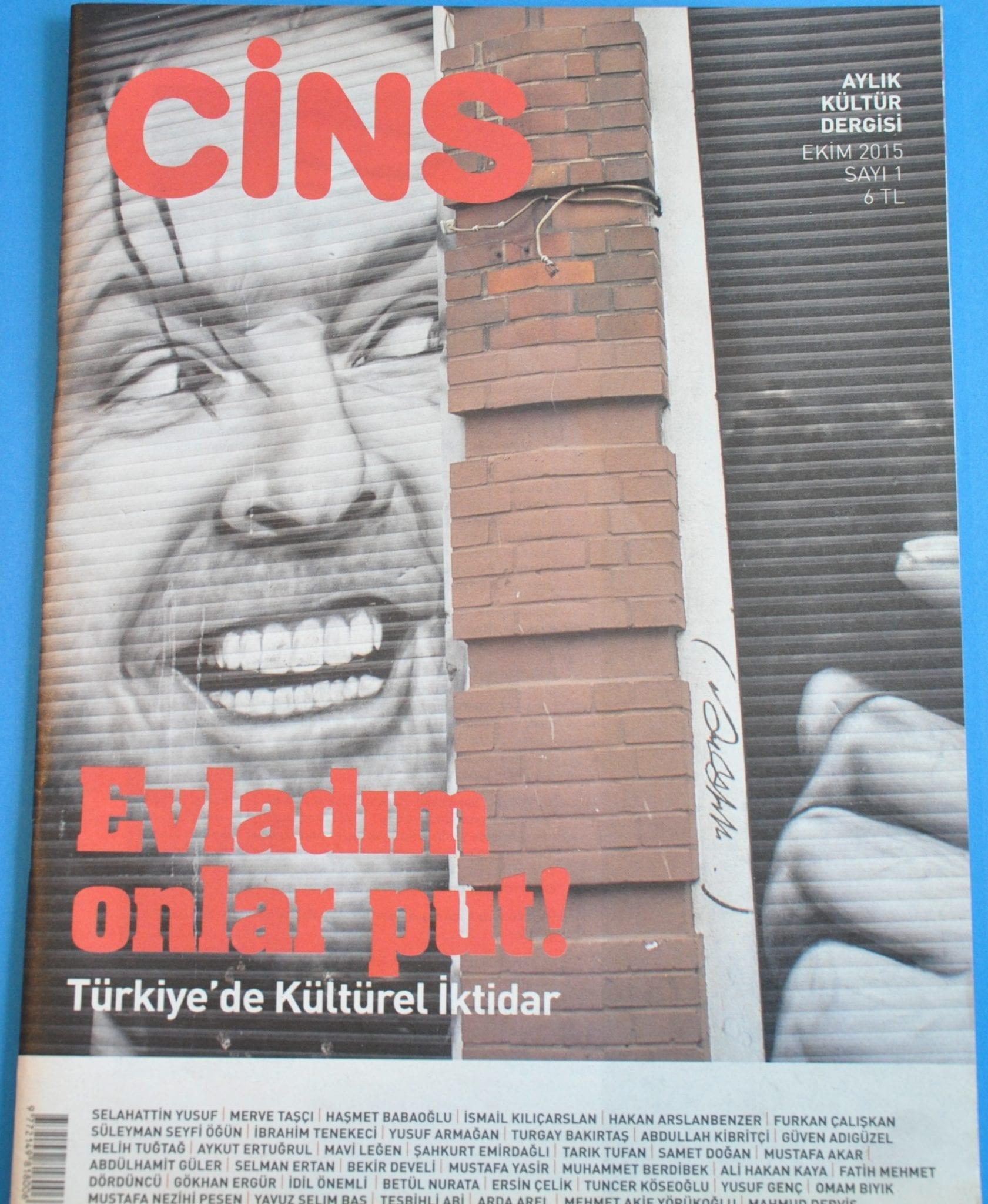ジンス トルコの月刊文化雑誌