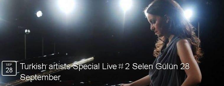 Selen Gülün Live at Z.imagine, Tokyo – 9/28 (Wed)